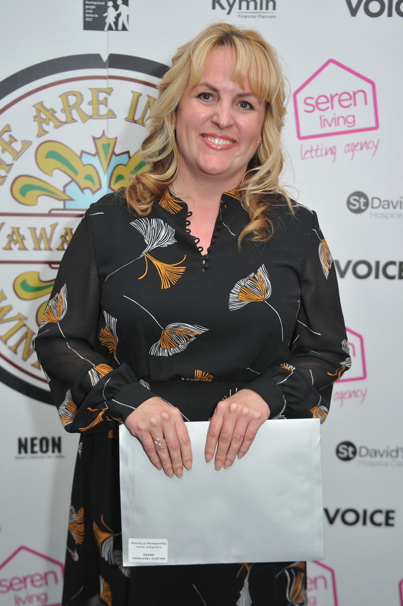 Lisa was the winner of the Holistic Treatment Award at the V Awards in 2019
