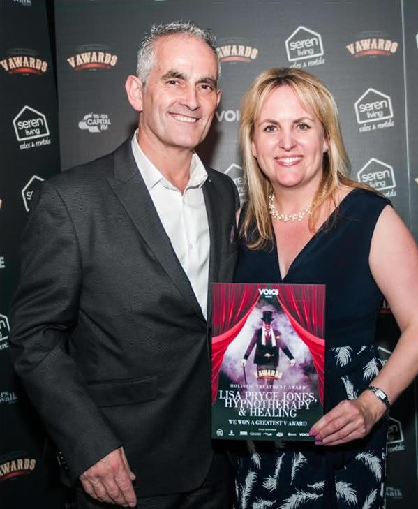Winner of the Holistic Treatment Award at the V Awards 2018 & 2019